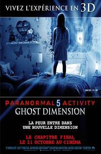 Paranormal Activity 5 : The Ghost Dimension