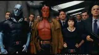 Hellboy II : Les Légions d'or maudites Bande-annonce VO