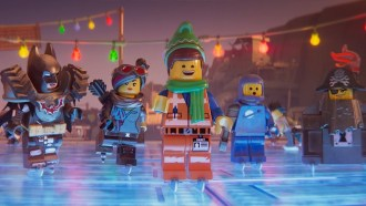 Emmet's Holiday Party: A Lego Movie Short Extrait VO