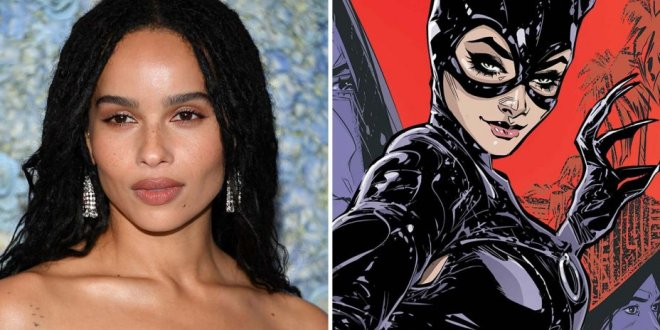 The Batman : Zoë Kravitz sera Catwoman